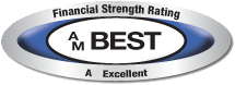 AM  Best Financial Strength Rating A Exellent